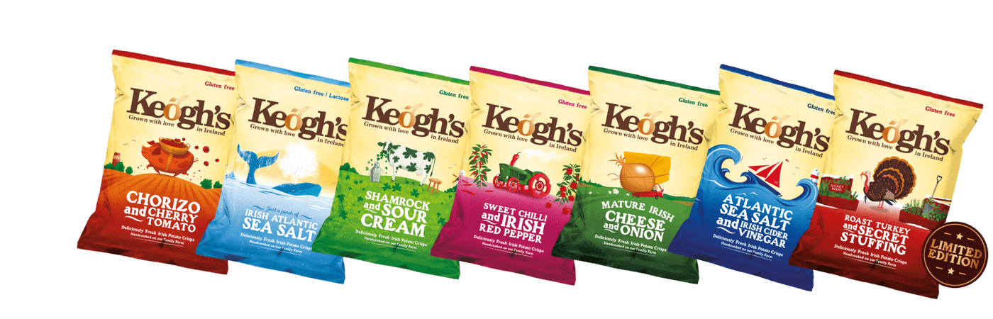 Keogh's Crisps | Core Range | Irish Crisps