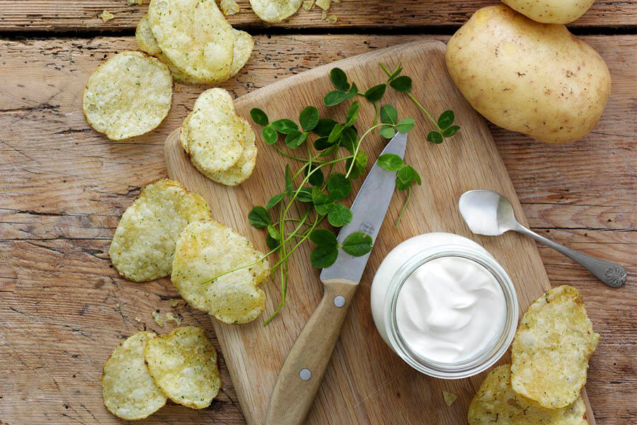 Keogh's Shamrock and Sour Cream Crisps | Keogh's Crisps
