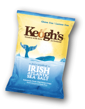 Atlantic Sea Salt Crisps | Keogh's Crisps